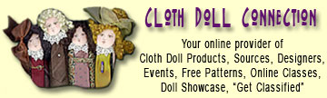 Cloth Doll Connection Logo Link